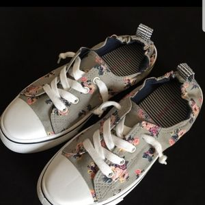 Maurices Floral Sneakers
